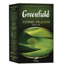 Чай Greenfield Flying Dragon (Флаинг Драгон) зеленый, листовой, 100 г