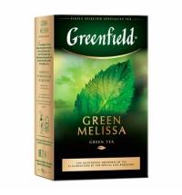 Чай Greenfield Green Melissa (Грин Мелисса) зеленый, листовой, 85 г