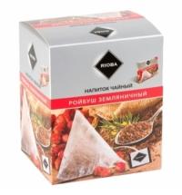 Чай Rioba Ройбуш земляничный в пирамидках, 20 пакетиков