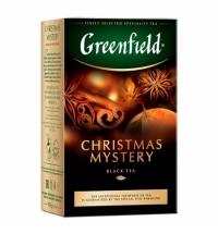 Чай Greenfield Christmas Mystery (Кристмас Мистери) черный, листовой, 100 г