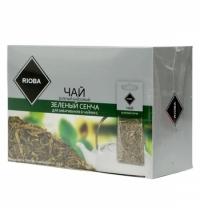 Чай Rioba Сенча зеленый, листовой, 20 пакетиков на чайник