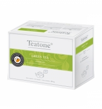 Чай Teatone Green Tea зеленый, 20 пакетиков на чайник