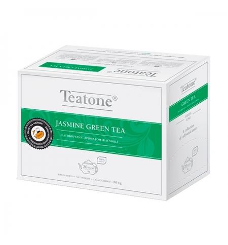 фото: Чай Teatone Jasmine Green Tea зеленый, 20 пакетиков на чайник