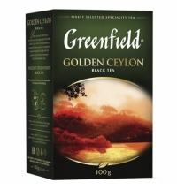 Чай Greenfield Golden Ceylon (Голден Цейлон) черный, листовой, 100 г