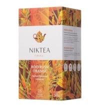 Чай Niktea Rooibush Orange (Ройбуш Оранж) травяной, 25 пакетиков