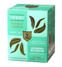 Чай Newby Jasmine Blossom (Жасмин блоссом) зеленый, листовой, 100 г