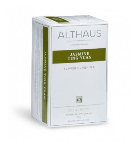 фото: Чай Althaus Jasmine Ting Yuan зеленый, 20 пакетиков