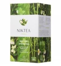 Чай Niktea Jasmine Emerald (Жасмин Эмеральд) зеленый, 25 пакетиков