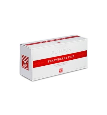 фото: Чай Althaus Strawberry Flip зеленый, 20 пакетиков для чайников