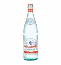 Аква Панна 0.75 л, вода без газа, стекло