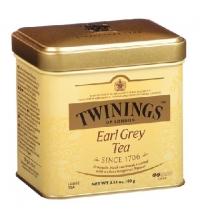Чай Twinings Earl Grey черный, листовой, 100 г, ж/б