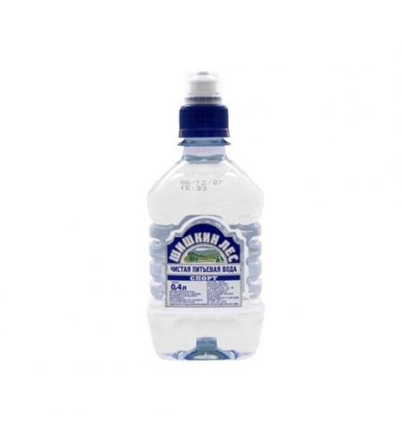 фото: Питьевая вода Шишкин Лес Спорт 0,4 л негазированная, ПЭТ