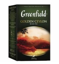 Чай Greenfield Golden Ceylon (Голден Цейлон) черный, листовой, 200 г