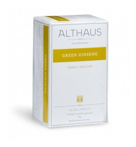 фото: Чай Althaus Ginseng Valley травяной, 20 пакетиков