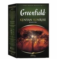 Чай Greenfield Kenyan Sunrise (Кениан Санрайз) черный, листовой, 200 г