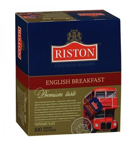 фото: Чай Riston English Breakfast черный, 100 пакетиков