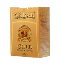 Чай Akbar Gold черный, листовой, 250 г