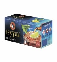 Чай Принцесса Нури Бергамот черный, 25 пакетиков