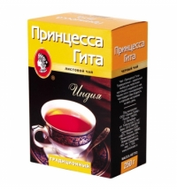Чай Принцесса Гита Традиционный листовой черный, 250г