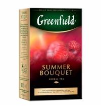 Чай Greenfield Summer Bouquet (Самма Букет) травяной, листовой, 100г