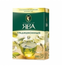 Чай Принцесса Ява Традиционный зеленый, листовой, 200 г