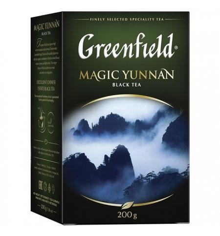 фото: Чай Greenfield Magic Unnan (Мэджик Юньнань) черный, листовой, 200 г