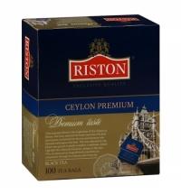 Чай Riston Premium Ceylon черный, 100 пакетиков