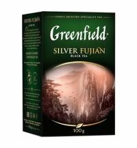 Чай Greenfield Silver Fujian (Силвэ Фуцзянь) черный, листовой, 100г