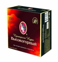Чай Принцесса Нури Высокогорный черный, 100 пакетиков