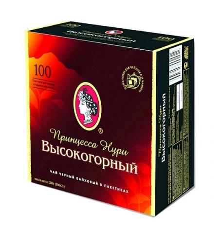 фото: Чай Принцесса Нури Высокогорный черный, 100 пакетиков
