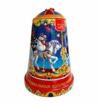 Чай Hilltop Музыкальный колокольчик Карусель черный, листовой, 100г, ж/б