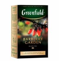 Чай Greenfield Burberry Garden (Барберри Гарден) черный, листовой, 100 г