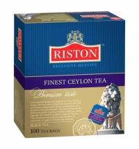 Чай Riston Ceylon черный, 100 пакетиков