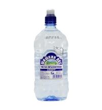 Вода Шишкин Лес 1 литр Спорт без газа, ПЭТ