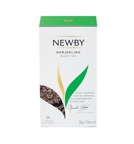 фото: Чай Newby Darjeeling (Дарджилинг) черный, 25 пакетиков