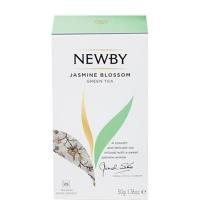 Чай Newby Jasmine Blossom (Жасмин блоссом) зеленый, 25 пакетиков