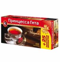 Чай Принцесса Гита Индия черный, 100 пакетиков
