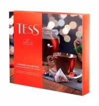 Набор чая Tess 9 сортов в пирамидках, 45 пакетиков