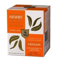 Чай Newby Ceylon (Цейлон) черный, листовой, 100 г