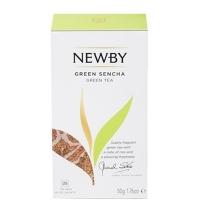 Чай Newby Green Sencha (Грин сенча) зеленый, 25 пакетиков