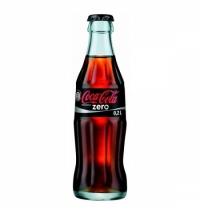 Напиток газированный Coca-Cola Zero 330мл стекло