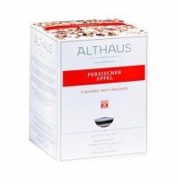 Чай Althaus Persischer Apfel фруктовый, листовой, в пирамидках, 15 пакетиков