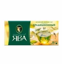 Чай Принцесса Ява Традиционный зеленый, 25 пакетиков