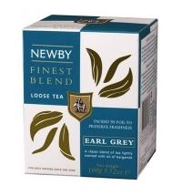 Чай Newby Earl Grey (Эрл Грей) черный, листовой, 100 г