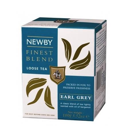 фото: Чай Newby Earl Grey (Эрл Грей) черный, листовой, 100 г