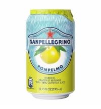 Напиток газированный Sanpellegrino грейпфрут 330мл, ж/б