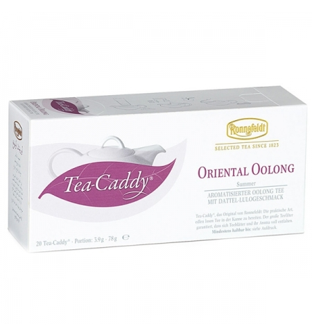 фото: Чай Ronnefeldt Tea-Caddy Oriental Oolong улун, 20 пакетиков для чайника