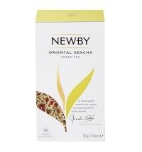 Чай Newby Oriental Sencha (Ориентал Сенча) зеленый, 25 пакетиков