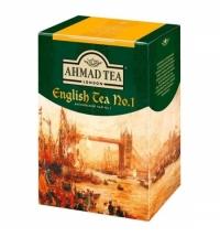 Чай Ahmad English Tea No.1 (Английский Чай No.1) черный, листовой, 200г