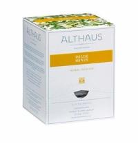 Чай Althaus Milde Minze травяной, листовой, в пирамидках, 15 пакетиков
